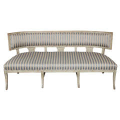 Rare Late Gustavian Sofa