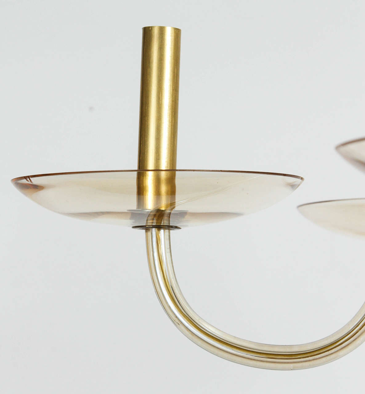 Mid-Century Murano Fixture In Excellent Condition For Sale In Los Angeles, CA