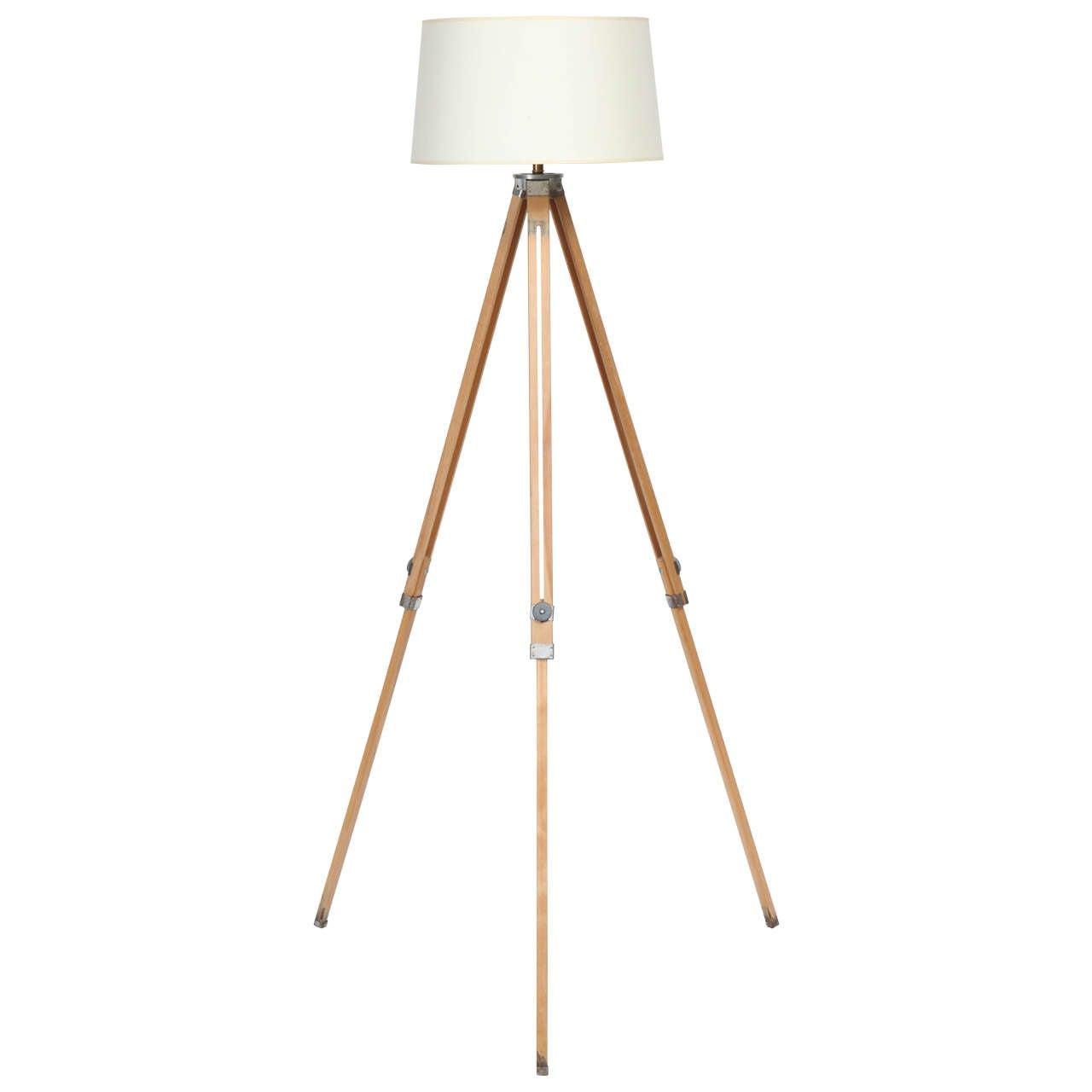 Vintage Tripod Floor Lamp For Sale At 1stdibs