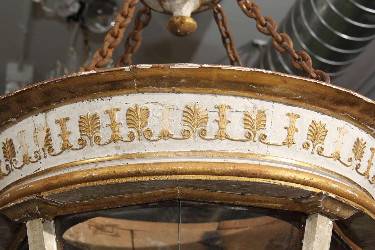 Grand Scale Italian Lantern In Distressed Condition For Sale In Seattle, WA