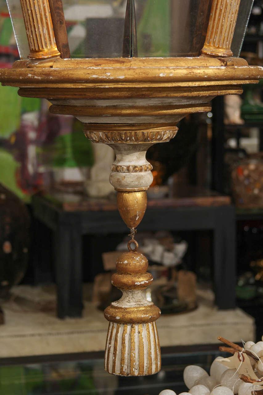 19th Century Grand Scale Italian Lantern For Sale