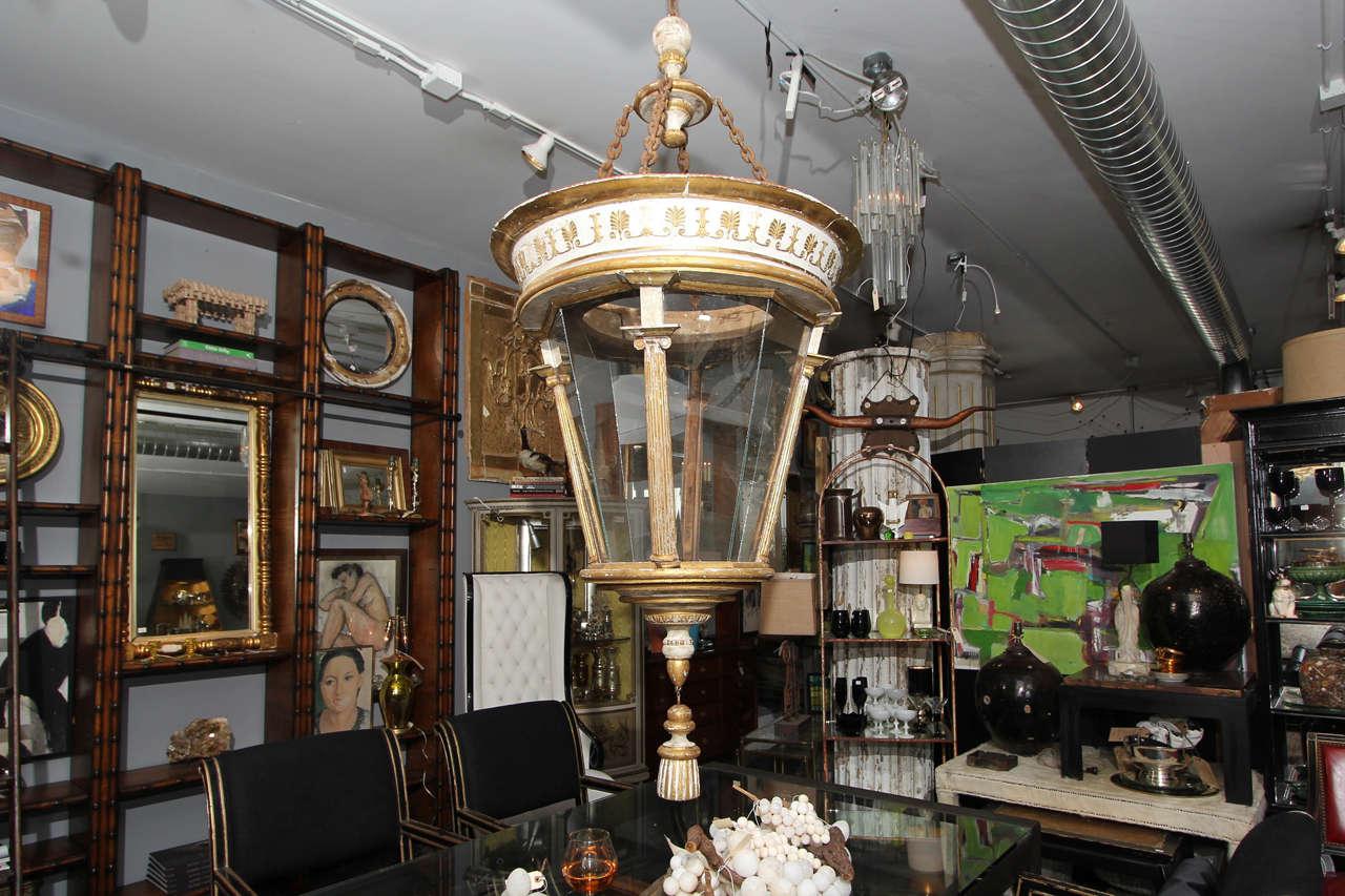 Grand Scale Italian Lantern For Sale 5
