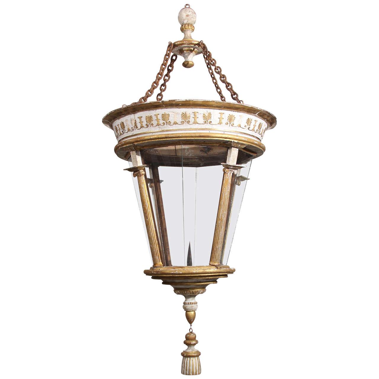 Grand Scale Italian Lantern For Sale