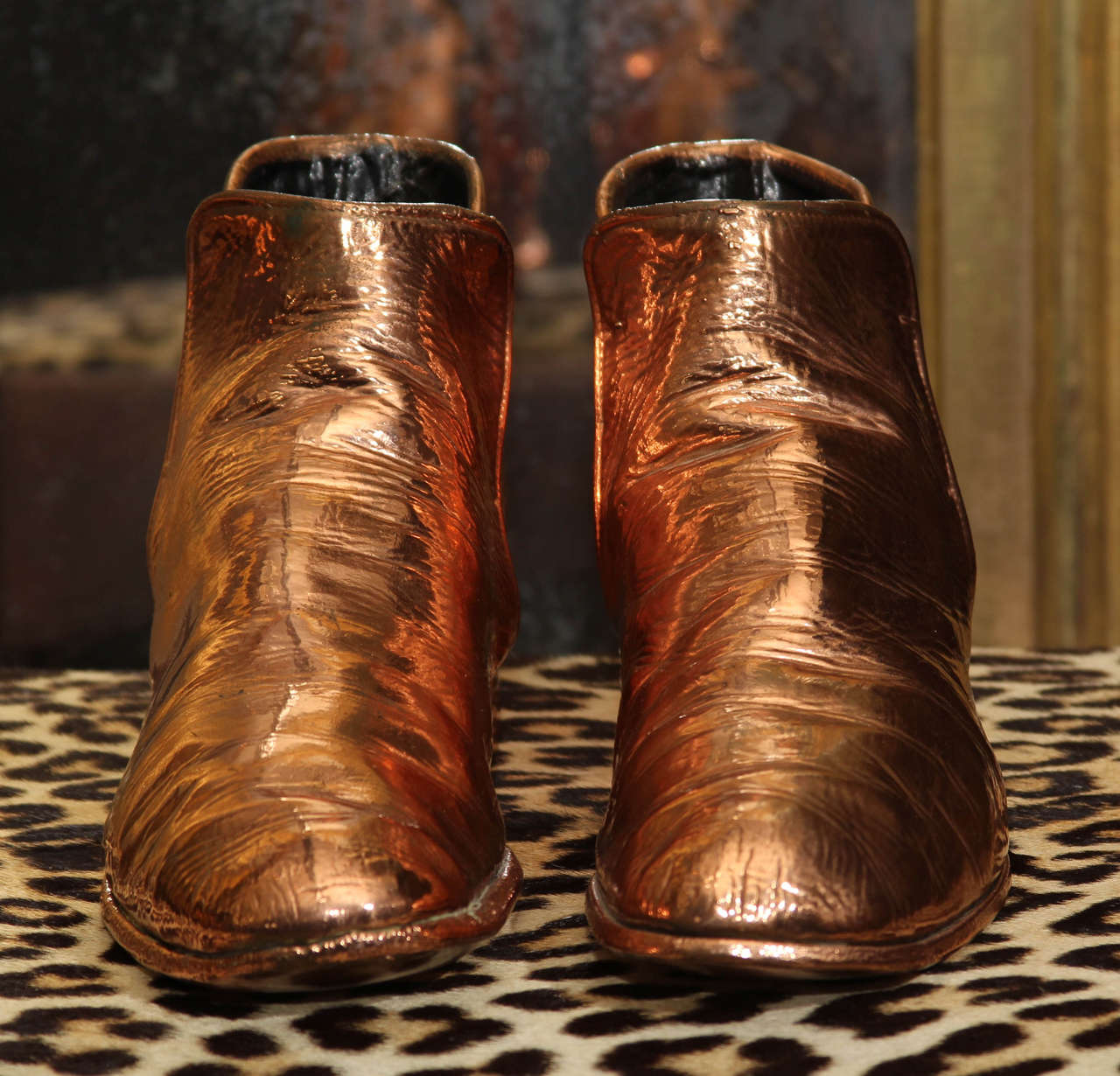 Copper Boots For Sale 1
