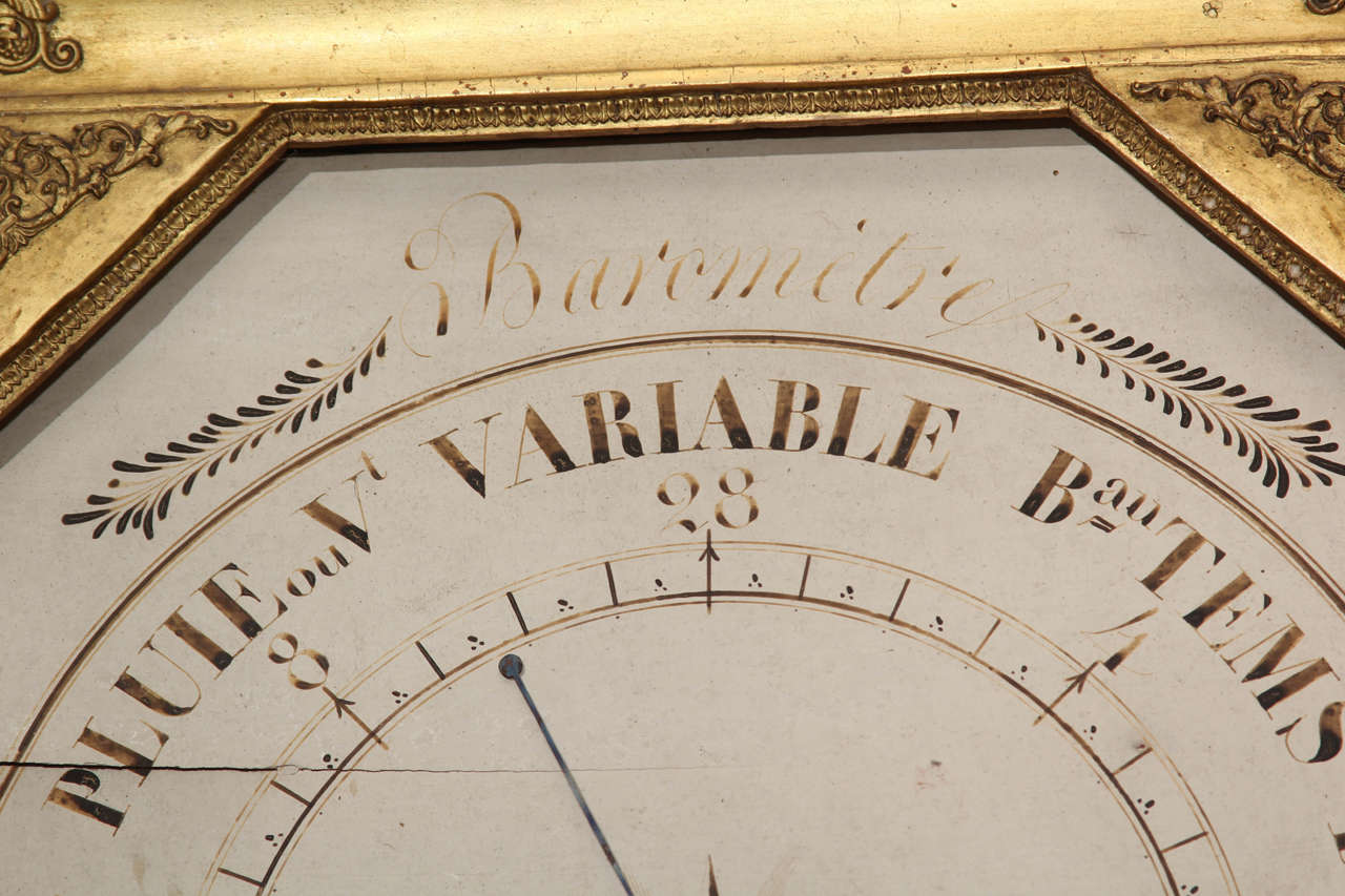 French Barometer For Sale 1