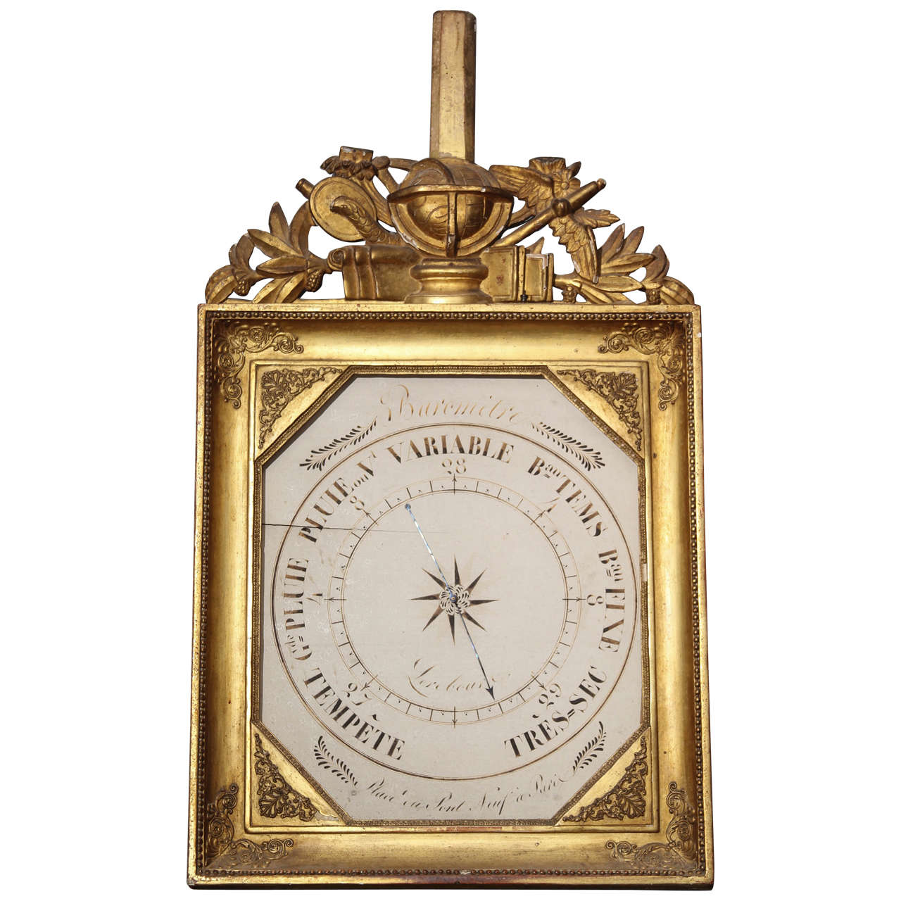 French Barometer For Sale