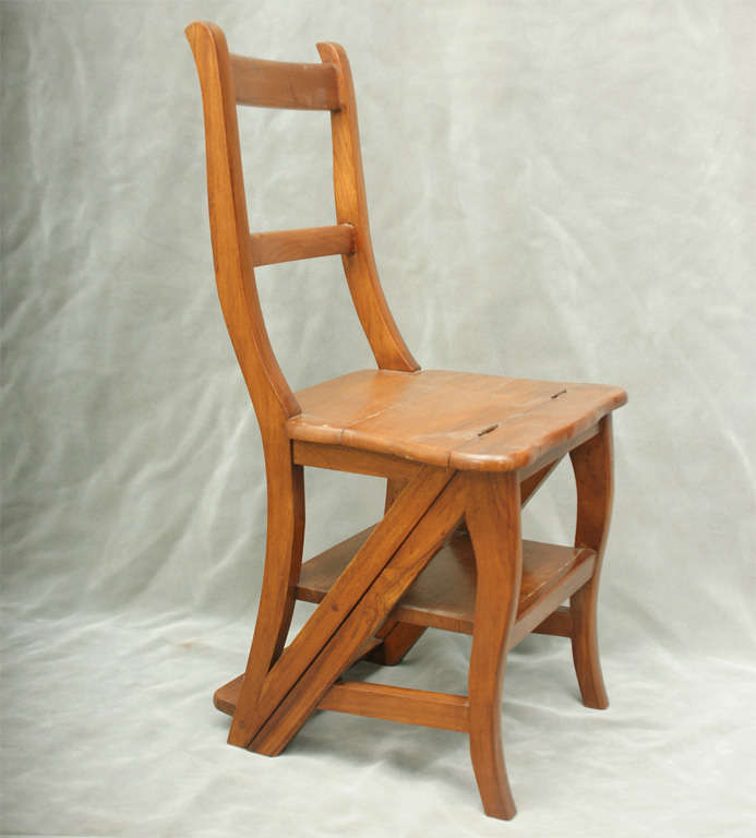 Step Stool Chair At 1stdibs