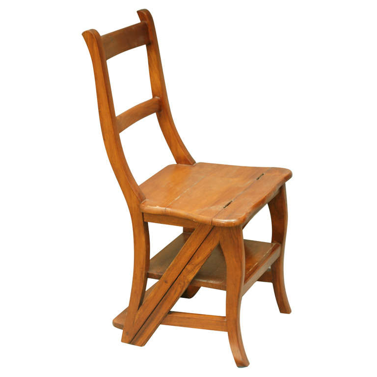 Step Stool Chair At Stdibs