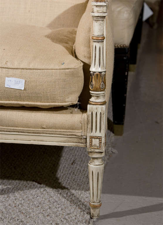 French Settee Stamped Jansen 3