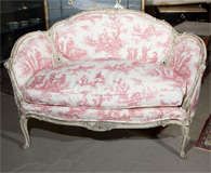 French Louis XV Style Settee Stamped Jansen image 3