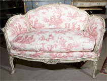 French Louis XV Style Settee Stamped Jansen image 4