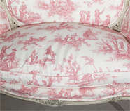 French Louis XV Style Settee Stamped Jansen image 6