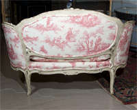 French Louis XV Style Settee Stamped Jansen image 8