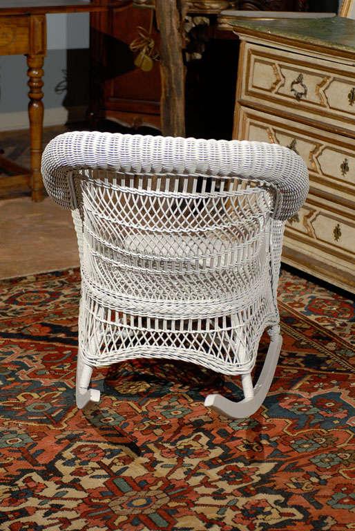 Heywood Wakefield Wicker Rocking Chair 2