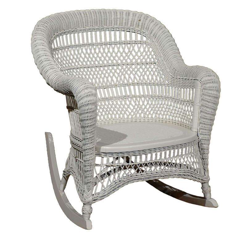 Wicker Rocking Chairs Wicker Rockers 2016 Patio Designs White Wicker .