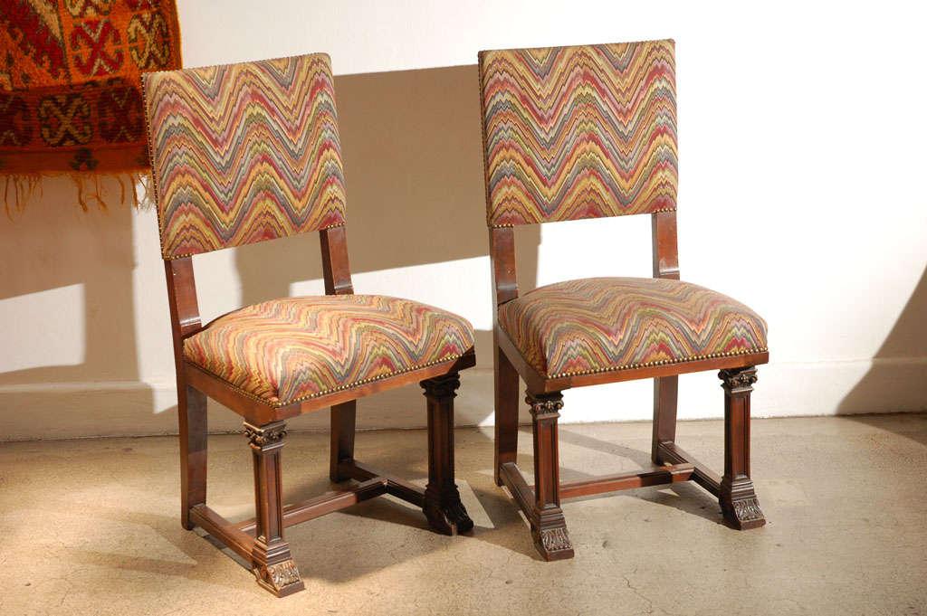 set of 8 spanish moorish style dining chairs at 1stdibs