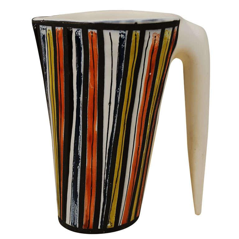 Roger Capron Ceramic Pitcher