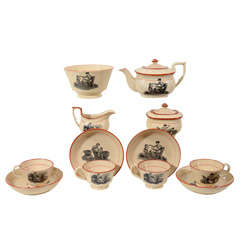 Child's Drabware Tea Set