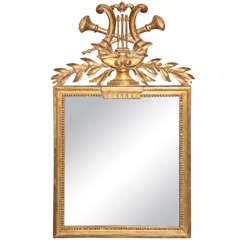 Lyre Detail Mirror