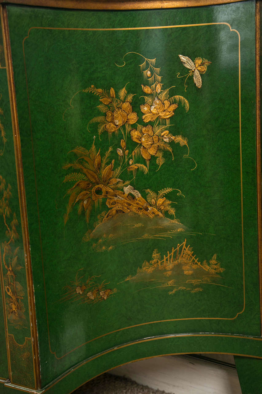 French Chinoiserie Style Sideboard by Maison Jansen 10