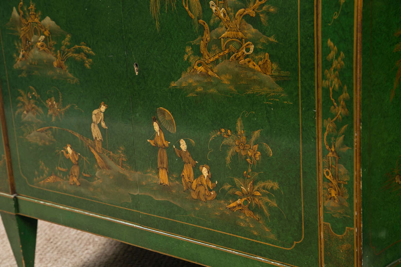 French Chinoiserie Style Sideboard by Maison Jansen 3