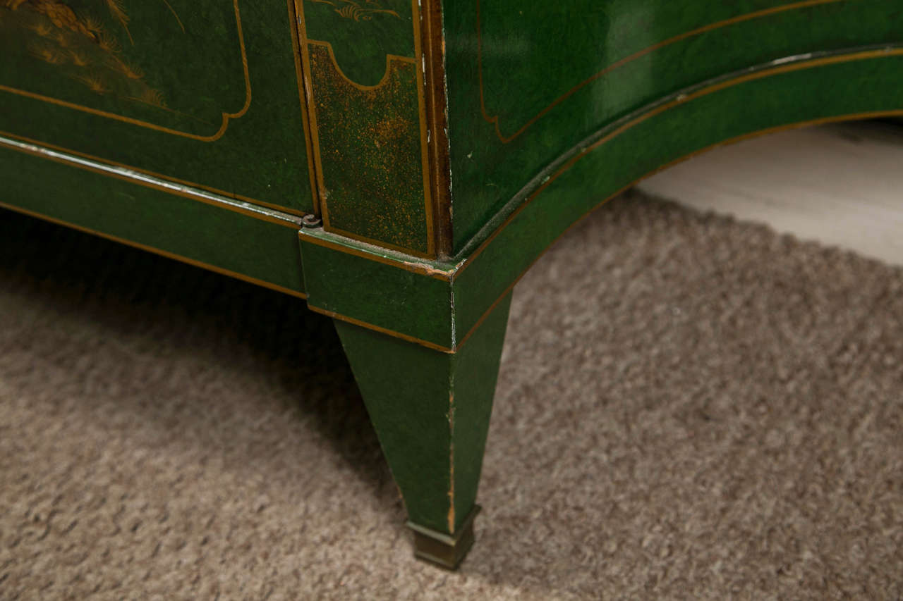 French Chinoiserie Style Sideboard by Maison Jansen 5