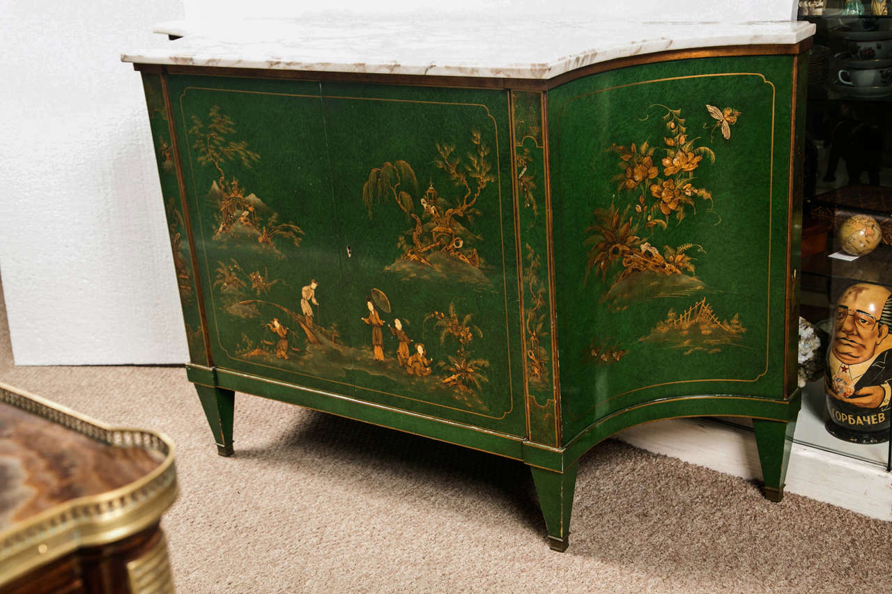 French Chinoiserie Style Sideboard by Maison Jansen 2