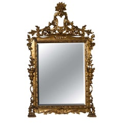 French Belle Epoque Style Mirror