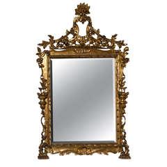 French Belle Epoque Style Mirror