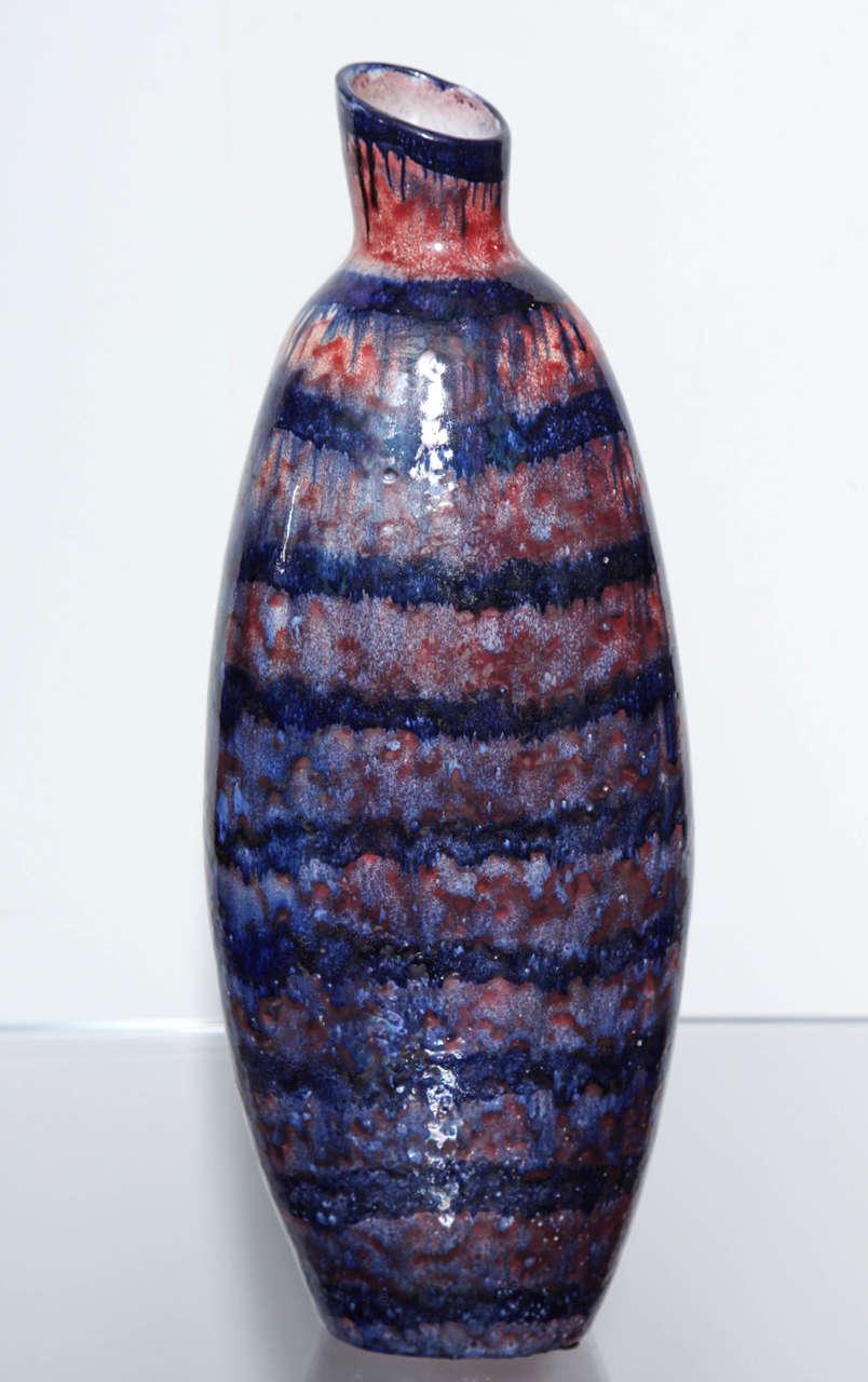 Mid-Century Modern Torviscosa Bottle For Sale