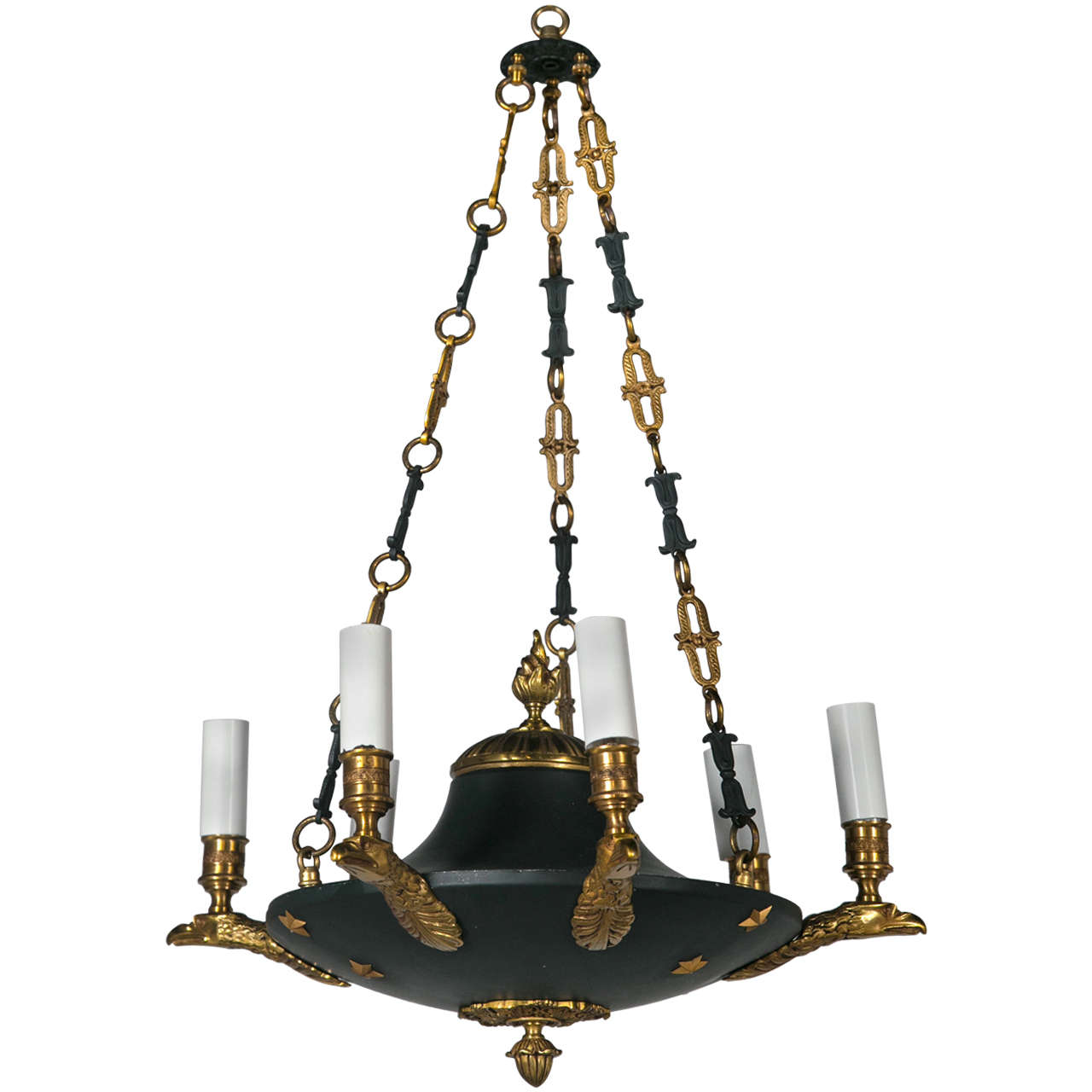 French empire chandelier circa 1900 for sale at 1stdibs - Circa lighting chandeliers ...
