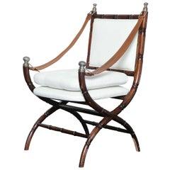 Midcentury Rosewood Sling Chair