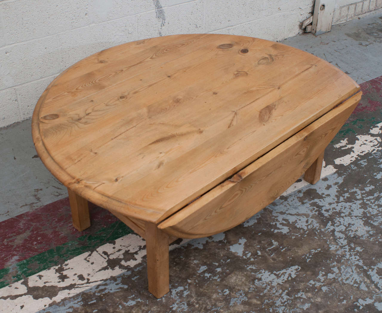Pine Drop Leaf Coffee Table At 1stdibs