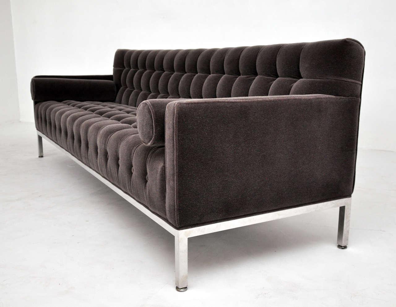 Tufted baker sofa image 7 for Baker furniture sectional sofa
