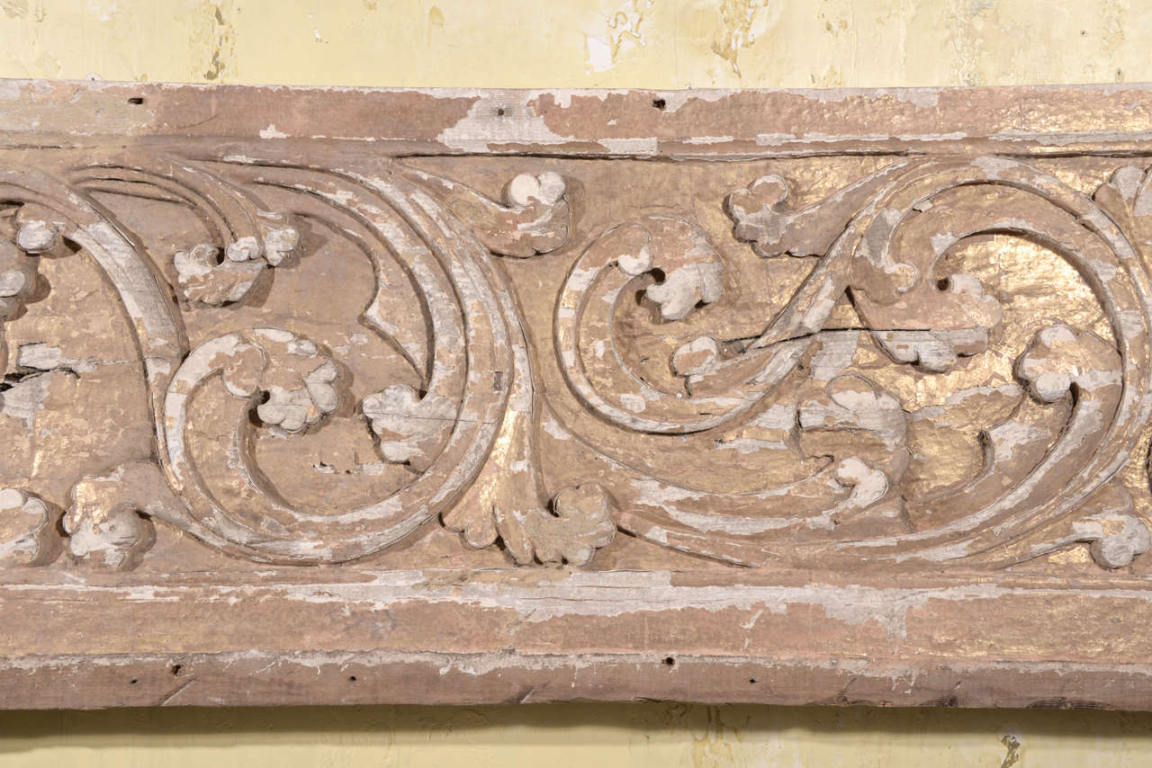 17th Century Pair Carved Portuguese Panels 4
