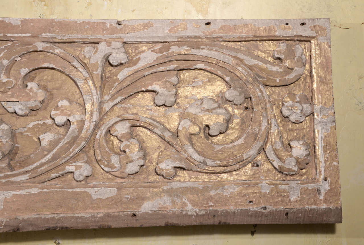 17th Century Pair Carved Portuguese Panels image 5