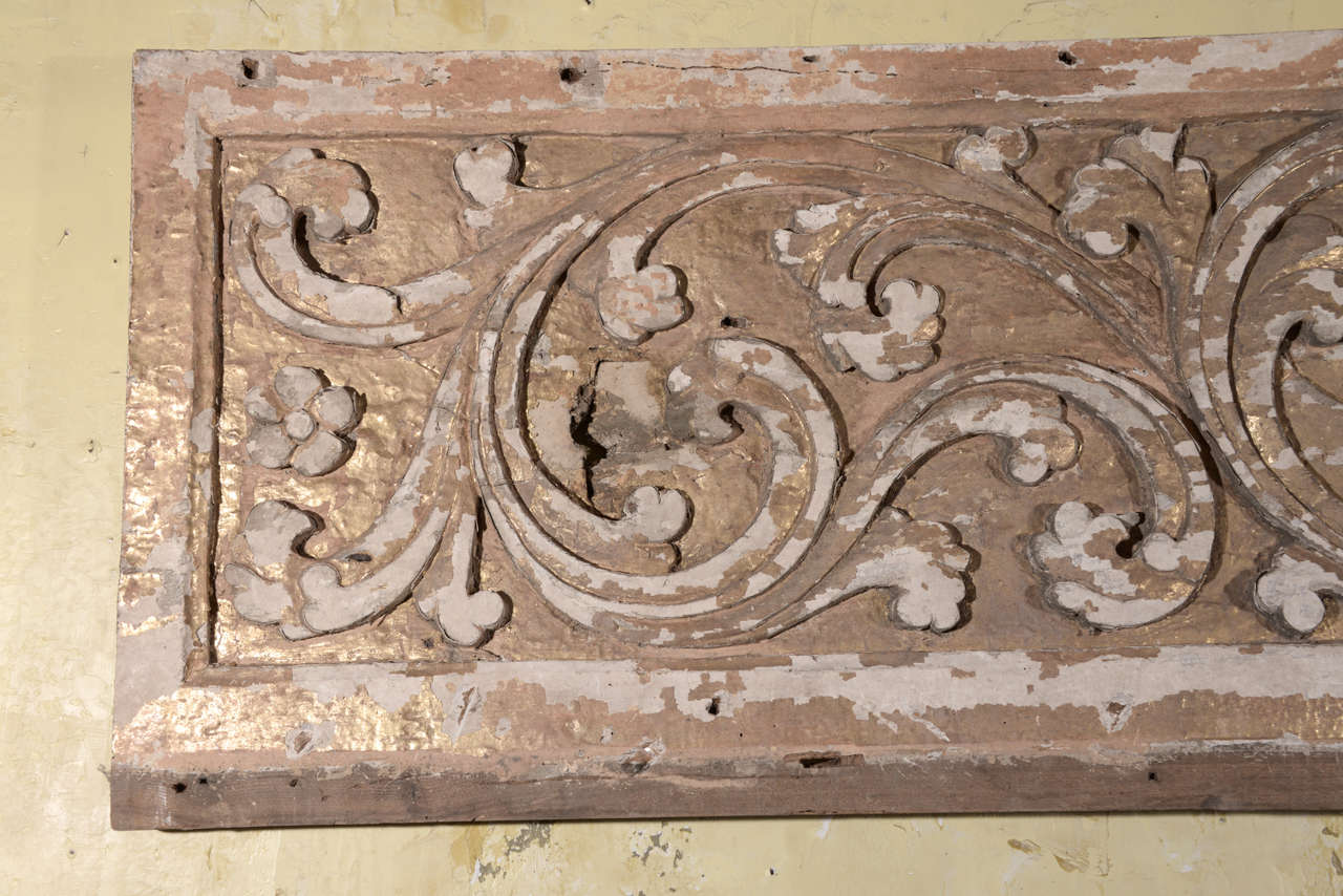 17th Century Pair Carved Portuguese Panels 8