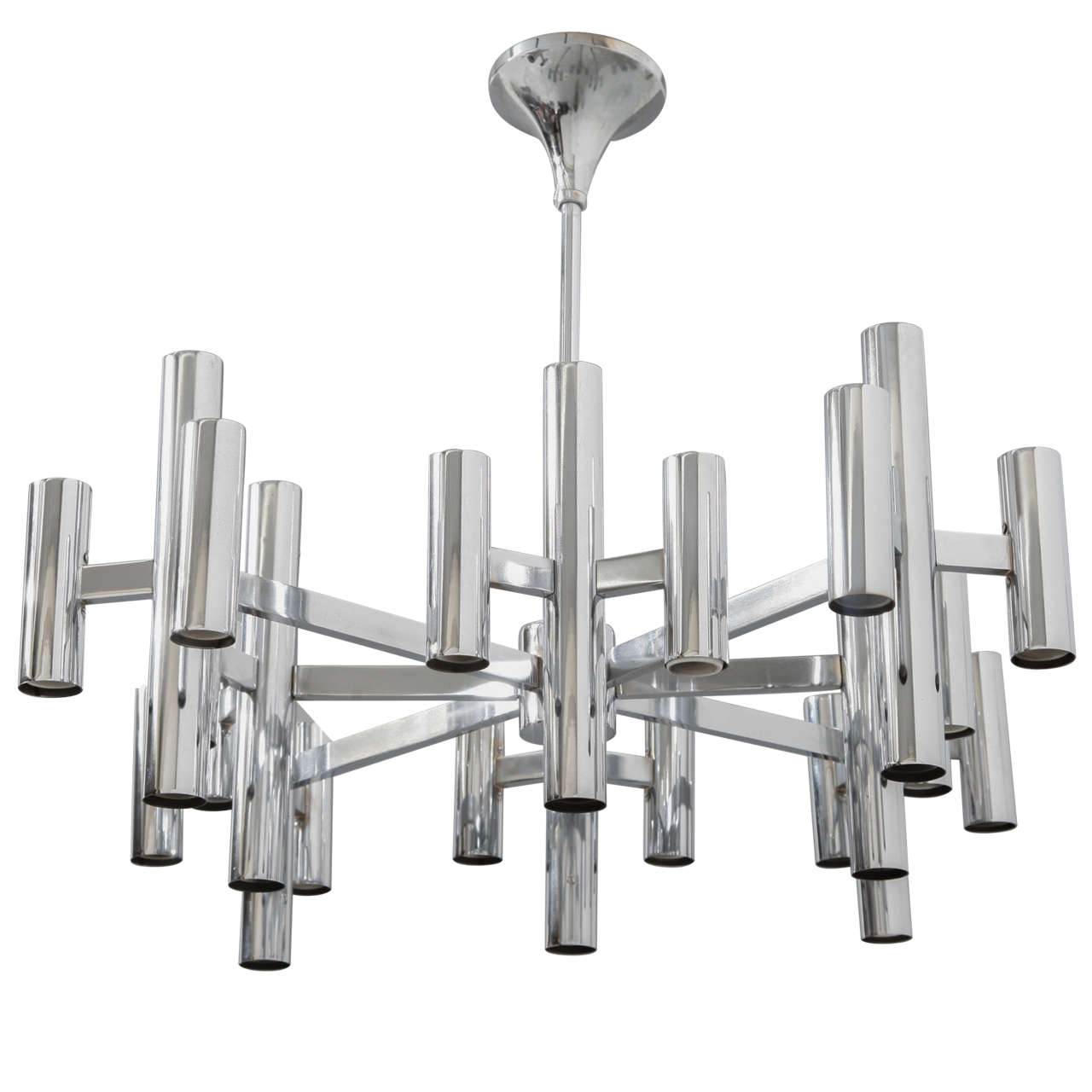 Sciolari Chrome Chandelier