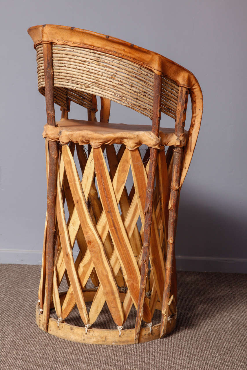 Set Of 11 Mexican Origin Equipale Chairs For Sale At 1stdibs