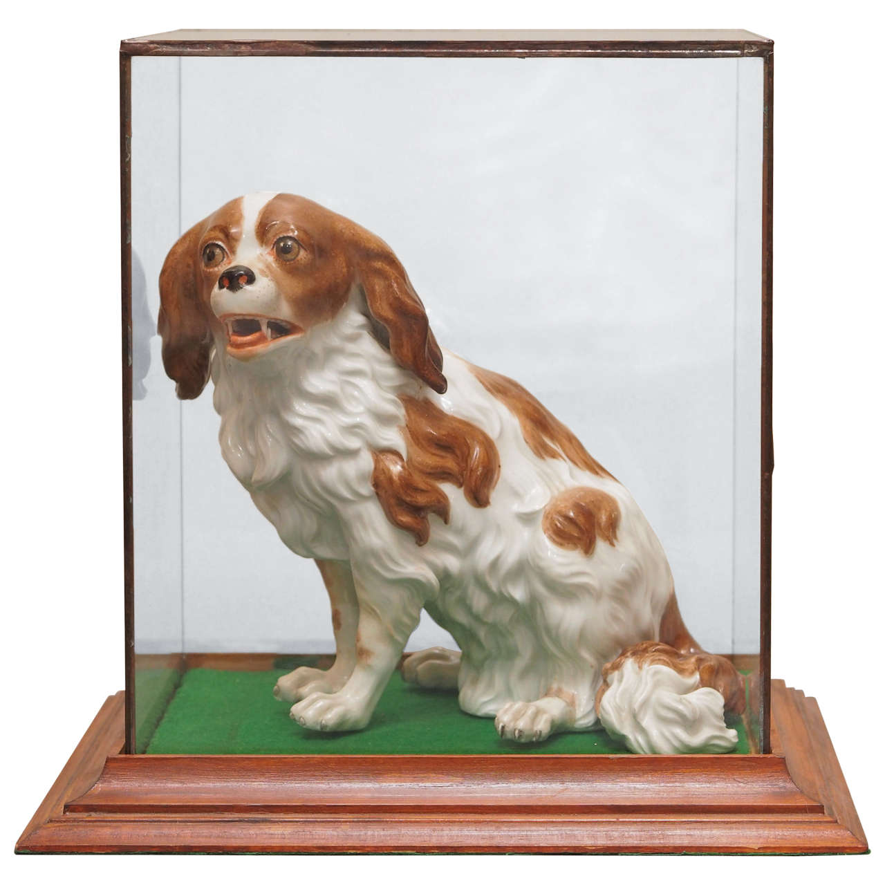 Vienna Porcelain figure of Cavalier King Charles Spaniel For Sale