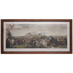 "20th Century English Print of ""The Derby Day"""