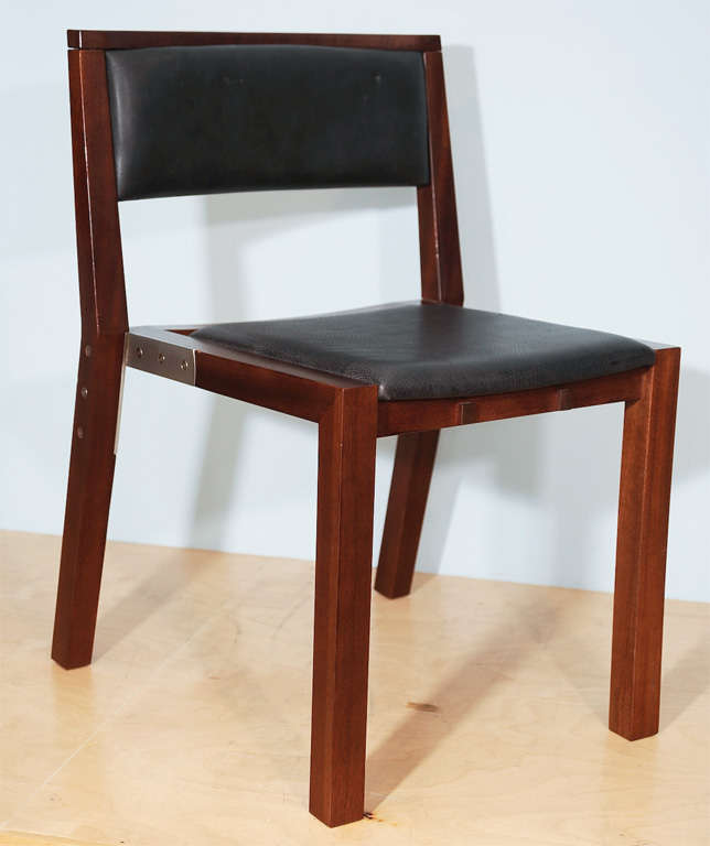 Prototype Side Chair by Jean-Michel Wilmotte for Tecno 2