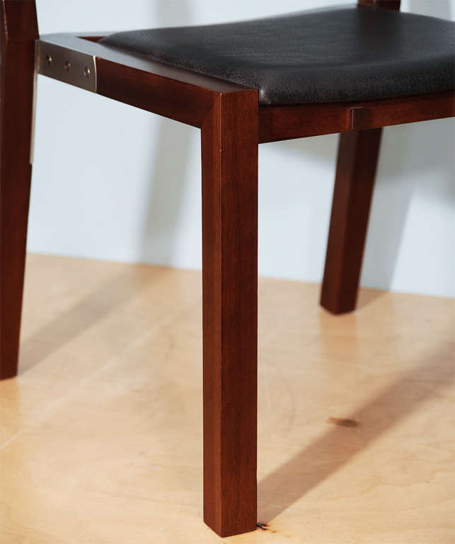 Prototype Side Chair by Jean-Michel Wilmotte for Tecno 3