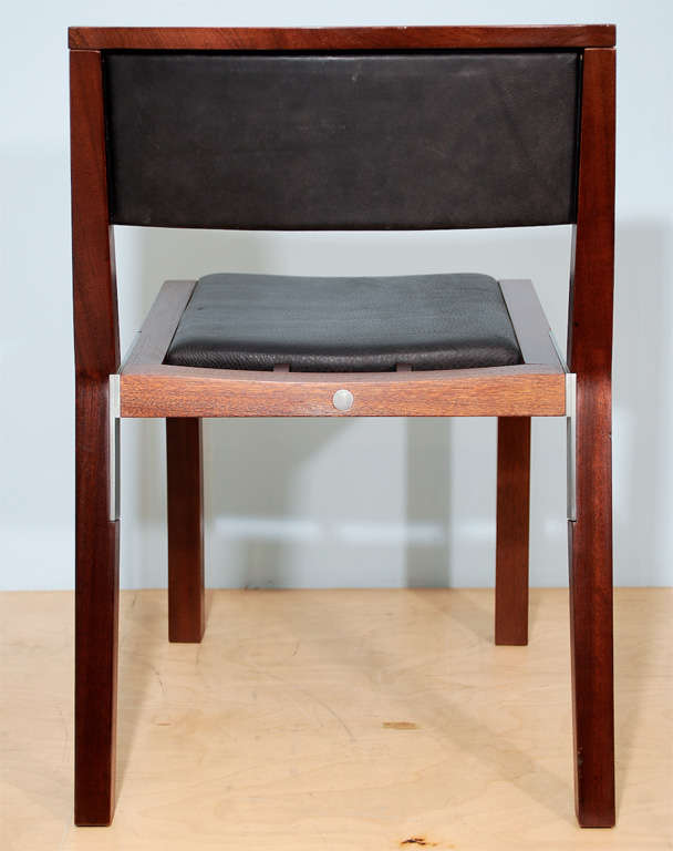 Prototype Side Chair by Jean-Michel Wilmotte for Tecno 8