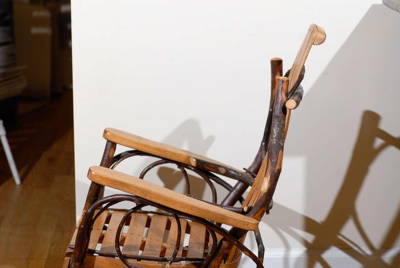 Original Amish Rocking Chair At 1stdibs