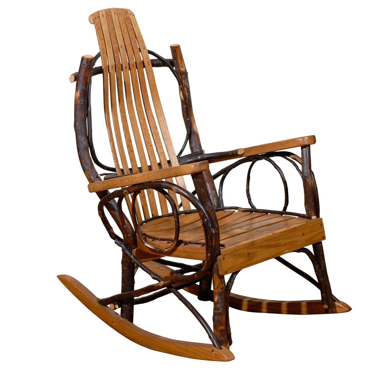 original amish rocking chair at 1stdibs