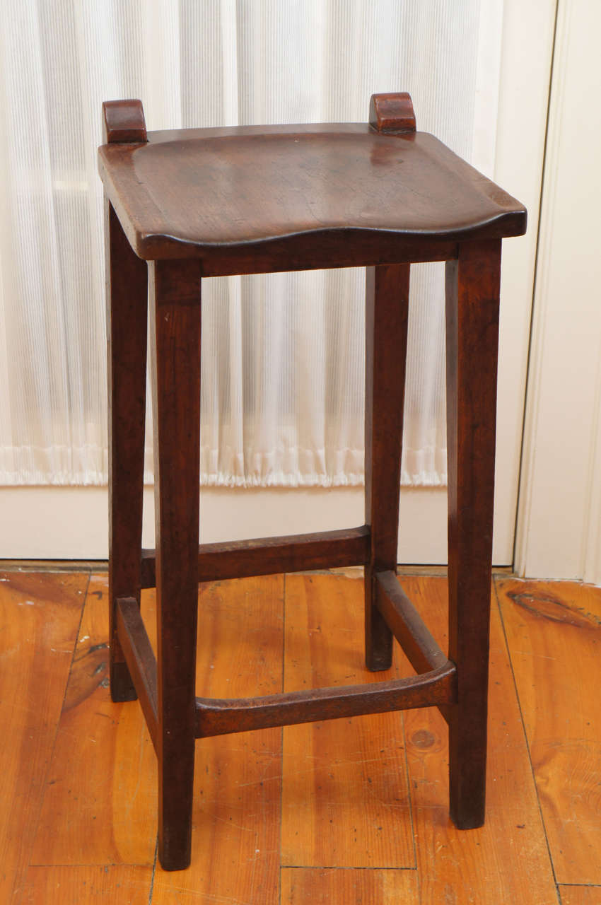 English Pub Saddle Seat Bar Stool At 1stdibs