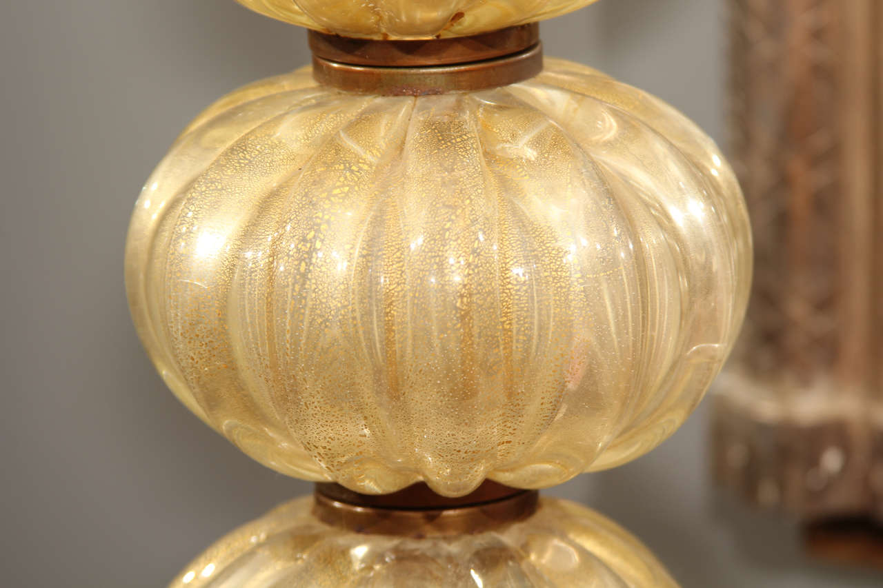 Murano Table Lamp For Sale 1