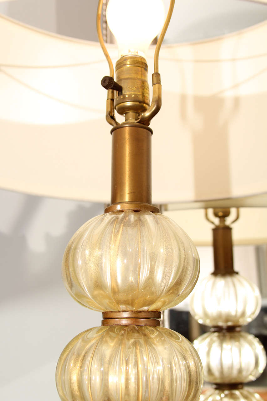 Murano Table Lamp For Sale 3