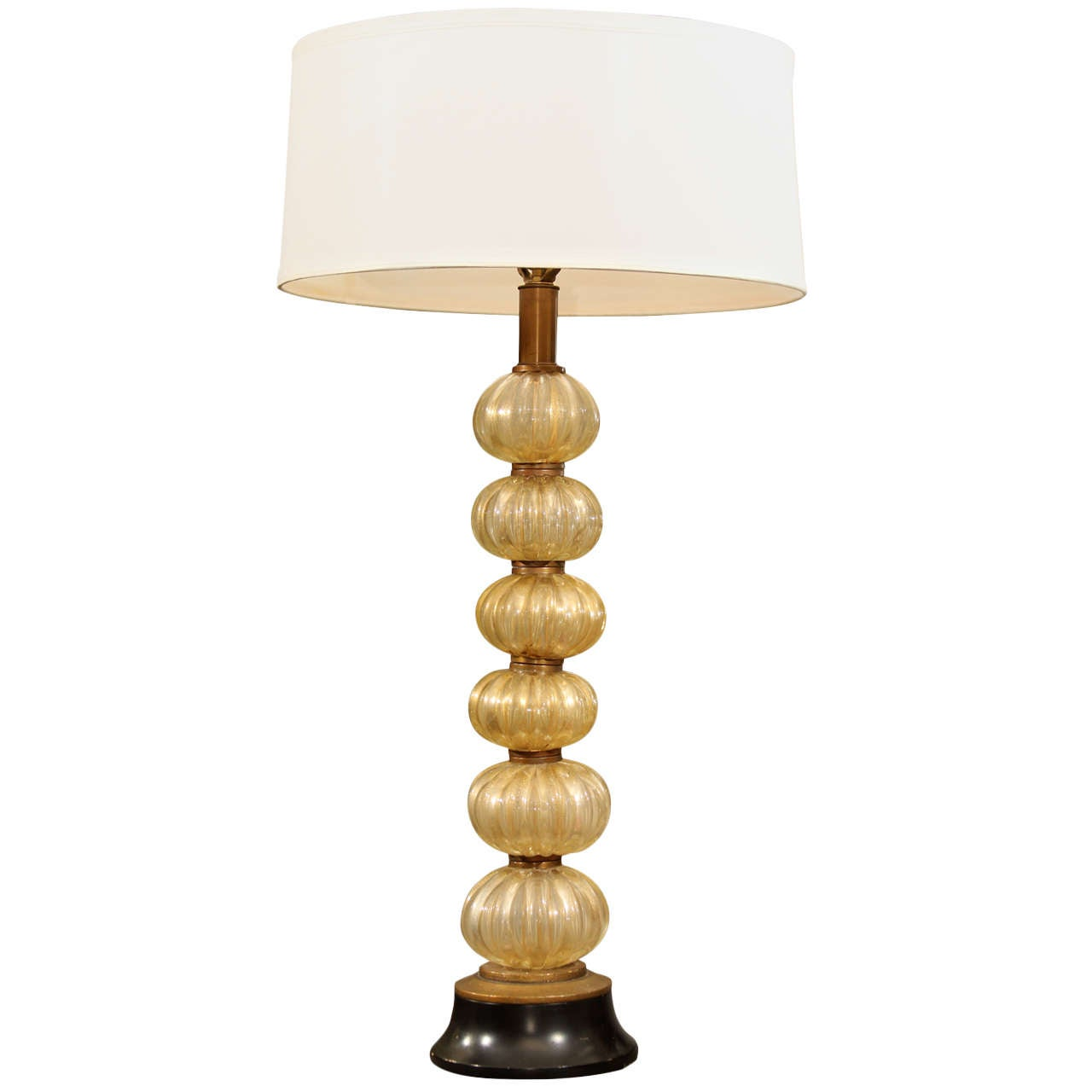 Murano Table Lamp For Sale